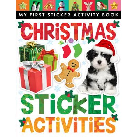 Christmas Sticker Activities - Christmas Party Activities