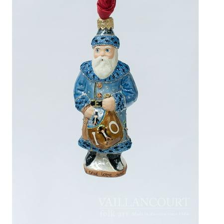 Ornament Mexican Folk Art - Vaillancourt Folk Art 10th Day of Christmas Ten Lords A Leaping Polish Ornament
