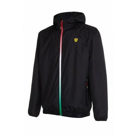 Ferrari Black SF Windbreaker Jacket