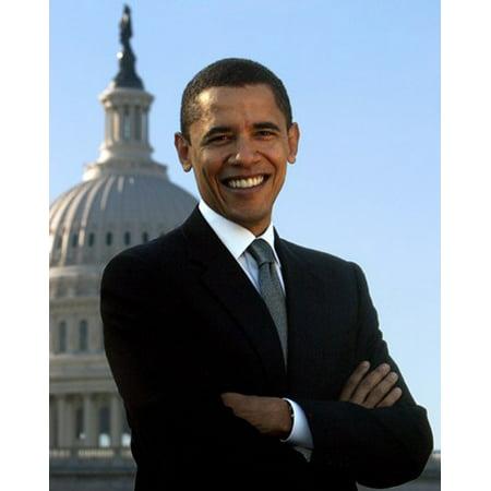 Barack Obama - Portrait (Style B) Movie Poster (11 x (Obama Portrait)