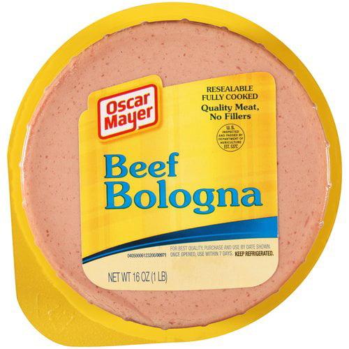 Oscar Mayer Beef Bologna, 16 oz