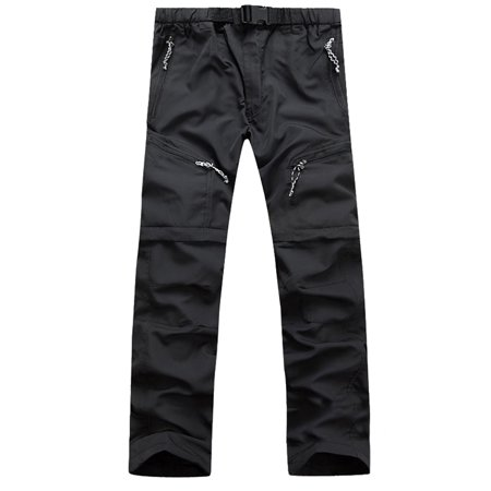 Mens Soft Shell Hiking Pants Waterproof Trousers Outdoor Tactical Bottoms Casual Storm Waterproof Pant