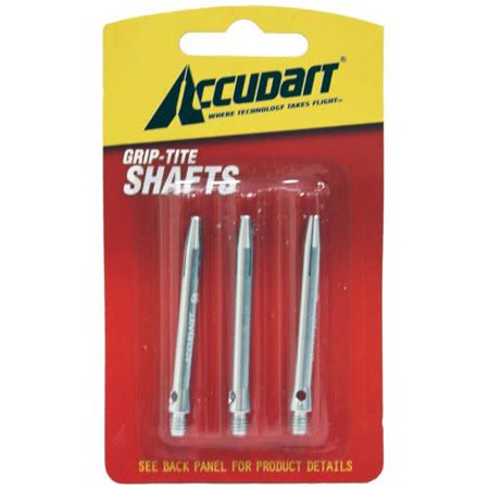 Accudart Grip-Tite Dart Shafts with Drilled Holes for Easy Insertion and Removal of Any Flight