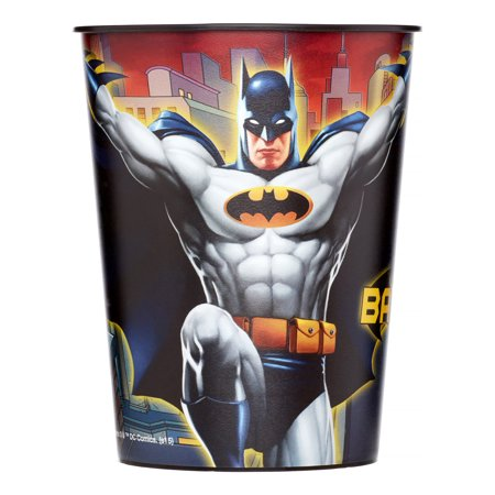 (3 pack) Batman Stadium Cup, 16 Oz, 1 Ct