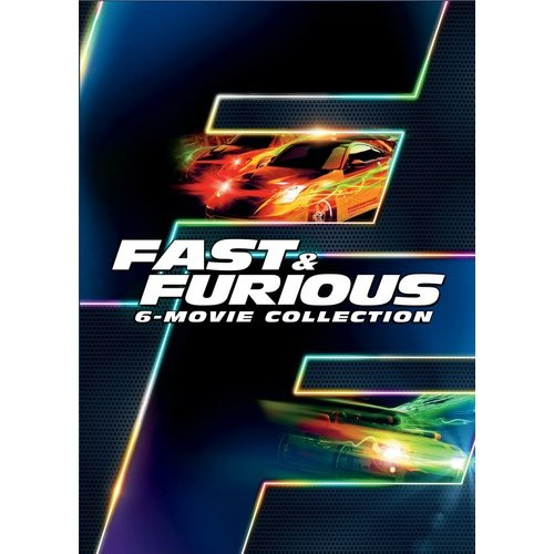 Fast & Furious 6-Movie Collection (Anamorphic Widescreen)