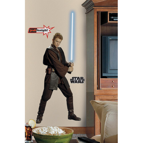 RoomMates Star Wars Episodes 1-3 Anakin Peel & Stick Giant Wall Decal