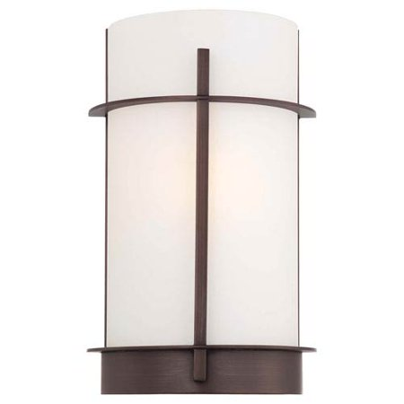 Minka-Lavery 1-Light Wall Sconce - 7.75-watt in. Copper Bronze Patina ()