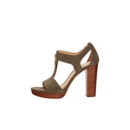 bd000c1da033 Michael Michael Kors Womens Berkley Leather Open Toe Casual Ankle Strap  Sandals