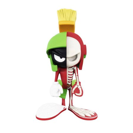 XXRay Looney Tunes XXRAY Looney Tunes Marvin the Martian 4D Vinyl Action Figure by Jason Freeny Designer Collectible Toys