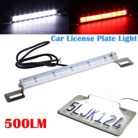 White 30 SMD Bolt-On LED Lamps for Car License Plate Lights Backup Reverse (Best Led Backup Lights)