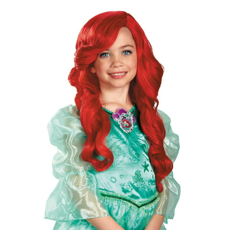 The Little Mermaid Ariel Child Wig Halloween Accessory - Kate Middleton Halloween Wig