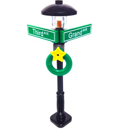 Lego® MinifigurePack: Holiday City/Town Street Sign and Lamp Post