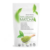 Pure Matcha Green Tea Powder 100% Organic Culinary Grade for Cooking Baking and Healthy Smoothies 12oz