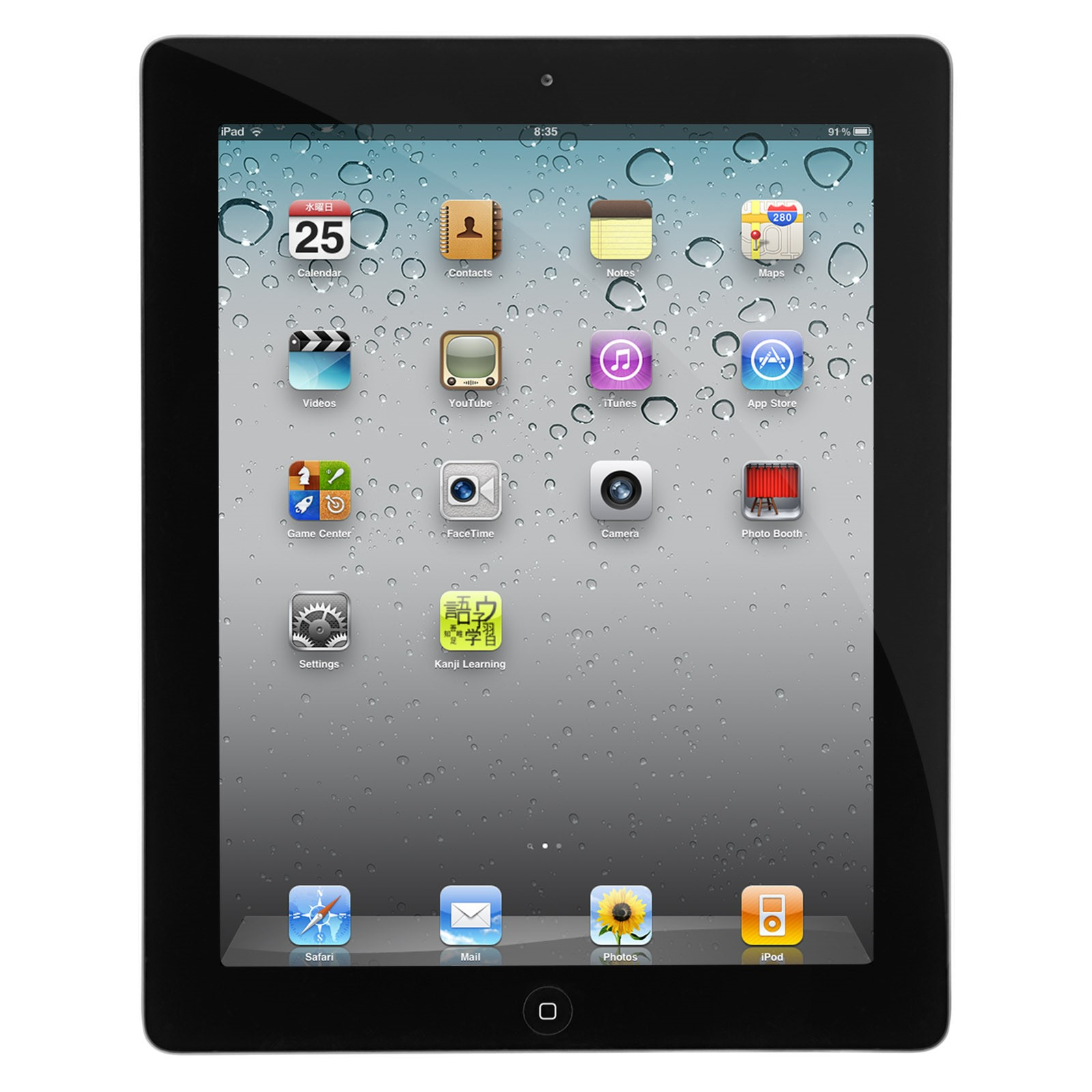 "Refurbished Apple iPad 2 16GB 9.7"" Touchscreen Wi-Fi Tablet - Black - MC769LLA"