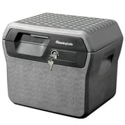 SentrySafe FHW40100 Fire-Resistant File Box Safe and Waterproof Box with Key Lock 0.66 cu ft