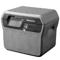 SentrySafe FHW40100 Fire-Resistant File Box Safe and Waterproof Box with Key Lock 0.66 cu. ft.