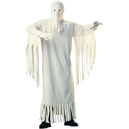 Adult Mens Classic Spooky Scary Creepy Haunting Ghost Costume (Scary Mens Costumes)