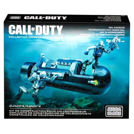 Mega Bloks Call of Duty SEAL Sub Recon Collector Construction Set