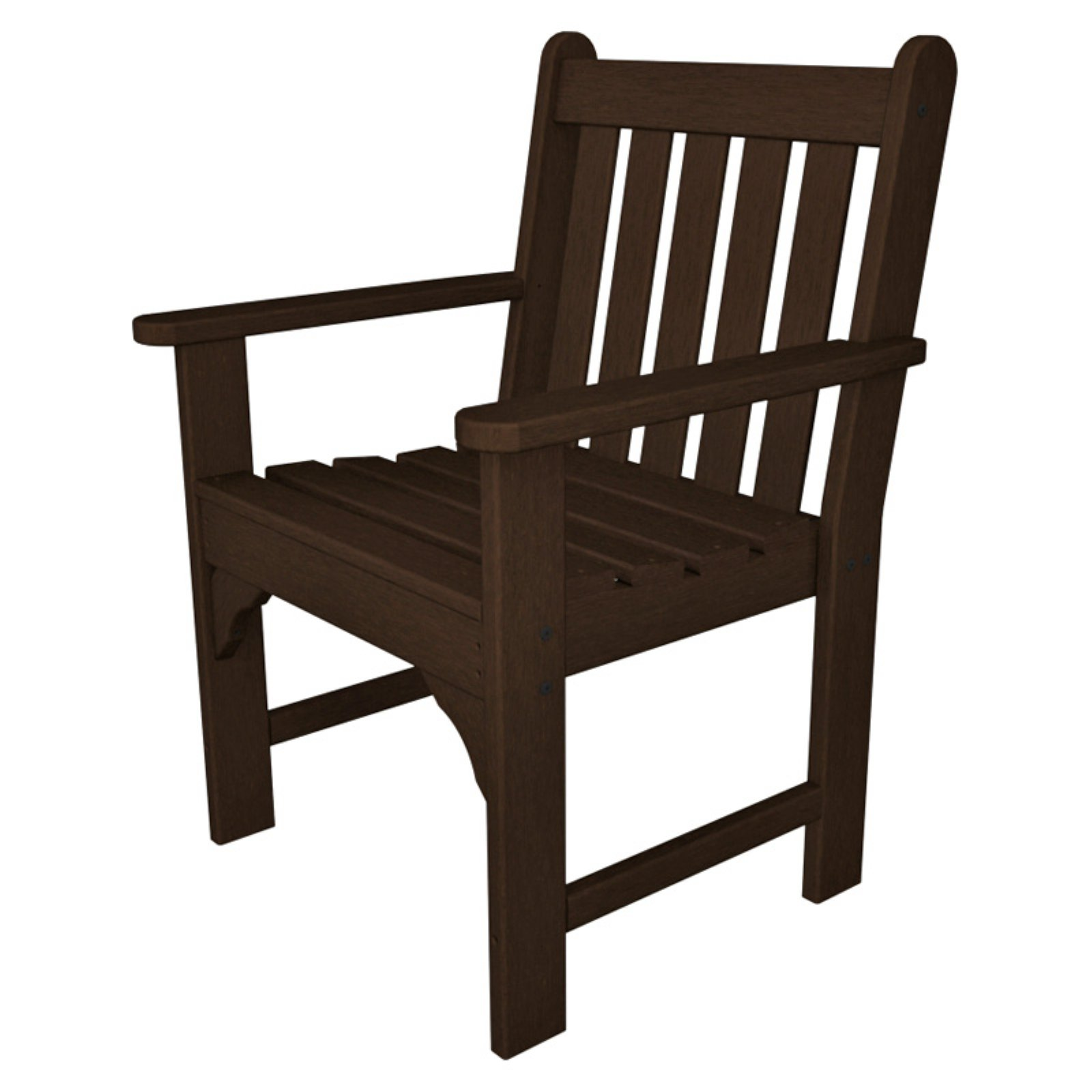 POLYWOOD® Vineyard Recycled Plastic Garden Arm Chair