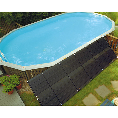 Smartpool Solar Heating System 4' x 20' AG with Mounting Kit and Diverter Valve Kit by Esse Sales Inc
