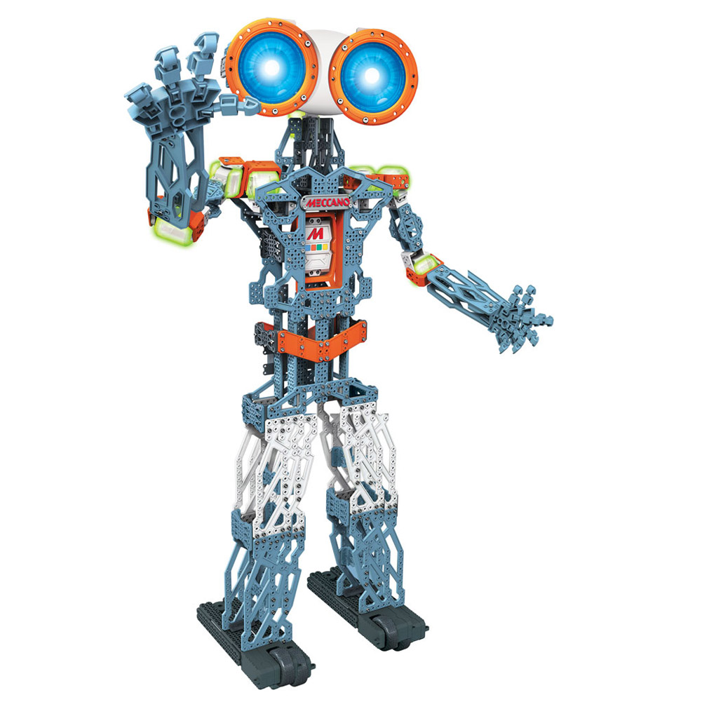 Meccanoid G15 KS STEM Toy Personal Robot Building Set with 10 Servo Motors Total by SPIN MASTER