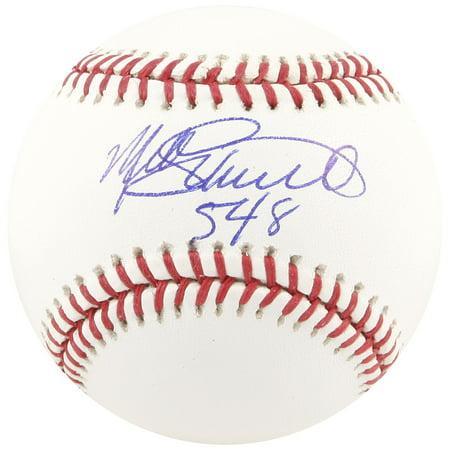 Mike Schmidt Signed Baseball - Mike Schmidt Philadelphia Phillies Fanatics Authentic Autographed MLB Baseball with 548 Inscription - No Size