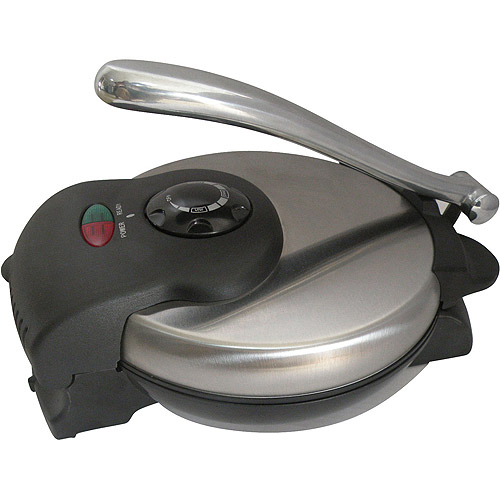 Brentwood TS-126 Tortilla Maker with Nonstick Stainless Steel Finish