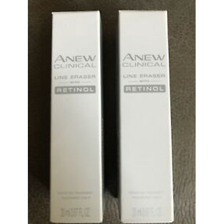 Avon Anew Clinical Line Eraser With Retinol Targeted Treatment set of