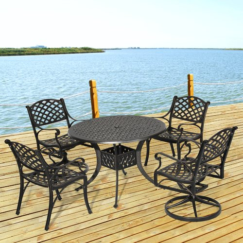 Fleur De Lis Living Greenlawn 5 Piece Dining Set