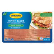 Butterball Lower Sodium Turkey Bacon 12 oz. Pack