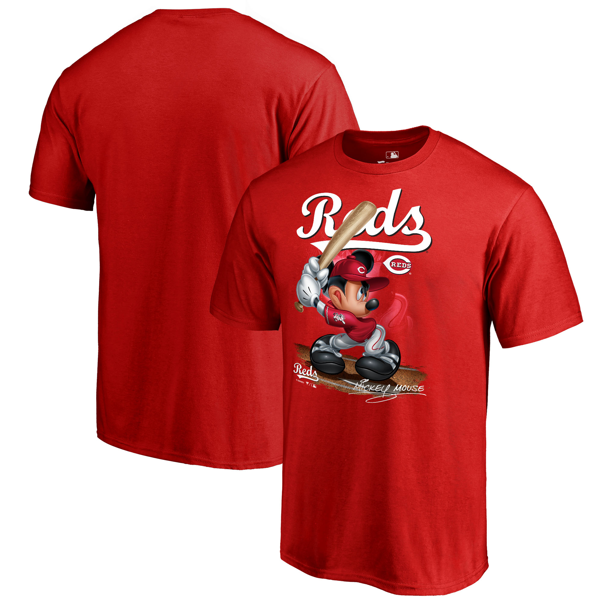 Cincinnati Reds Fanatics Branded Youth Disney All Star T-Shirt - Red