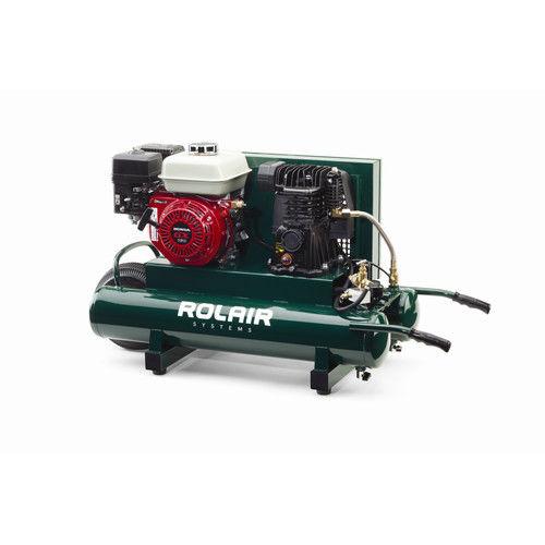 Rolair 4090HMK103-0001 9 Gallon 163cc 5.5 HP Portable Belt Drive Air Compressor by