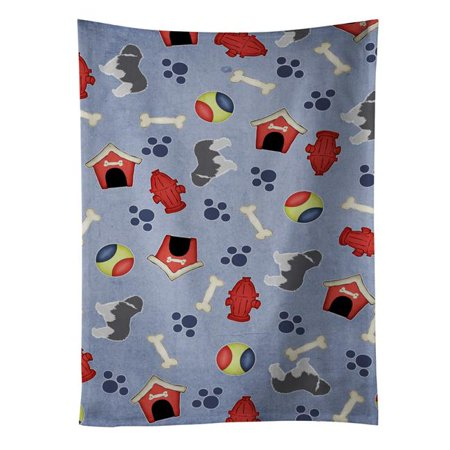 Carolines Treasures Bb3932ktwl Polish Lowland Sheepdog Dog Dog House Collection Kitchen Towel Walmart Canada