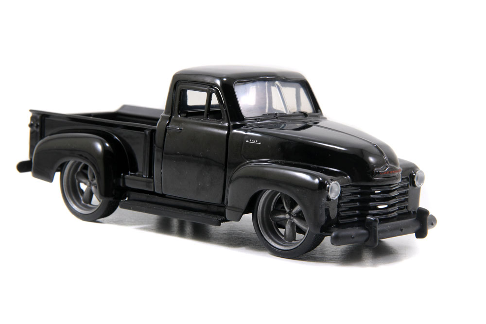 1953 Chevy Pickup Truck, Black Jada Toys Just Trucks 97007 1 32 scale Diecast Model Toy... by Jada
