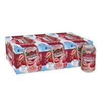 Arrowhead Sparkling Water, Summer Strawberry, 12 oz. Cans (24 Count)
