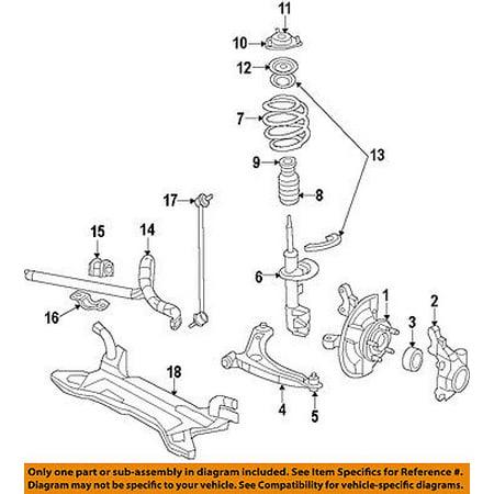 CHRYSLER OEM Front-Steering Knuckle Spindle 68088499AC