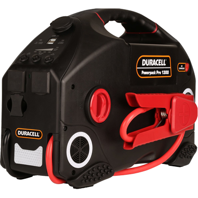 Duracell DR600PWR Pro 1300 Jump Starter/Powerpack
