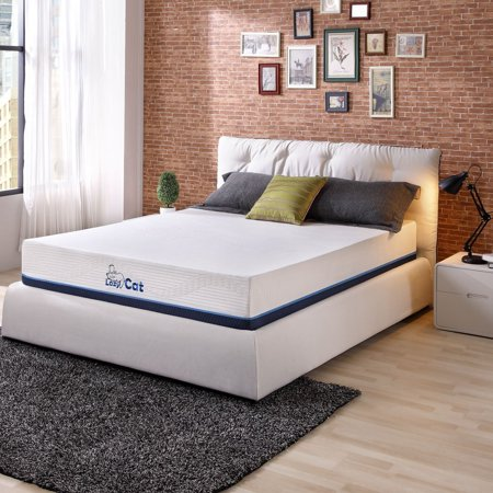 """LazyCat 11"""" CertiPUR-US Natural Green Tea Infused Memory Foam and Natural Latex Hybrid Mattress, Multiple Sizes"""