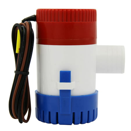 1100Gph 12V Marine Waterproof Electric Bilge Pump Easy to Install For Boat Caravan RV
