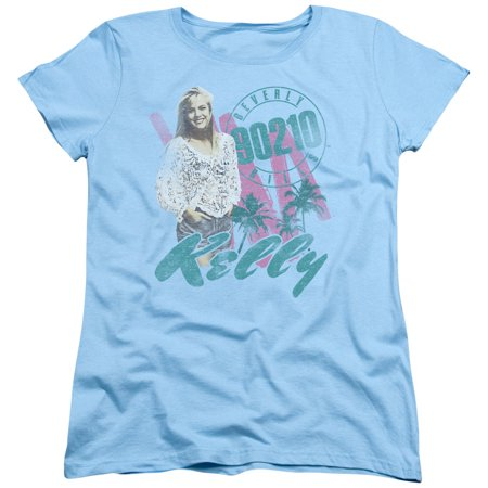 90210 Beverly Hills Cw Tv Series Kelly Vintage Womens T Shirt Tee