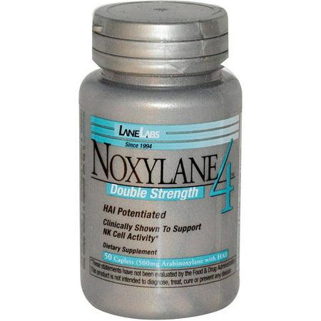 Lane Labs Noxylane 4 Double Strength Caplets, 50 CT