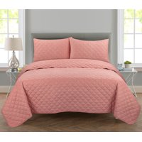 Mainstays Lightweight Cotton Quilt & Sham Bedding Set