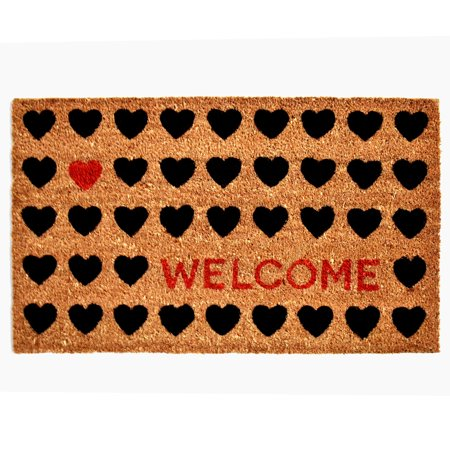 Calloway Mills Heart Welcome Outdoor Doormat ()