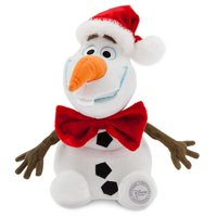 Disney Frozen Olaf Plush Figure [Holiday, Red Bowtie]