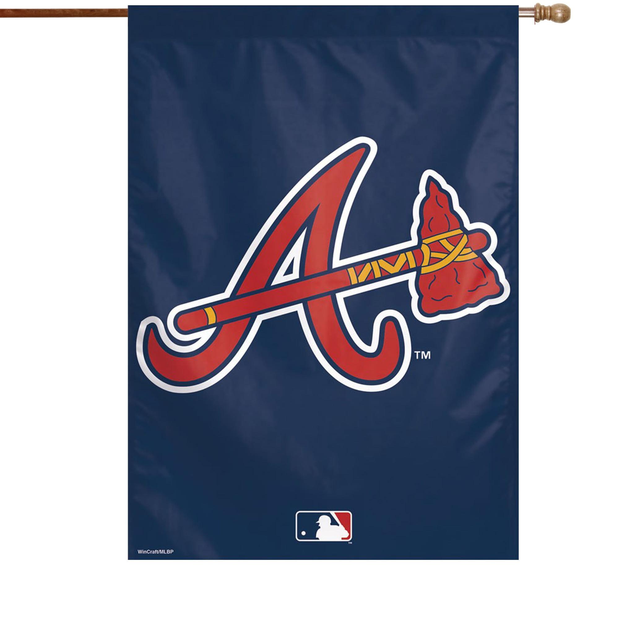 "Atlanta Braves WinCraft 28"" x 40"" Big Logo House Flag - No Size"