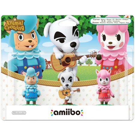 animal crossing amiibo 3 pack universal - Inventory Checker