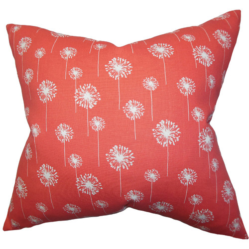 The Pillow Collection Joop Floral Cotton Throw Pillow