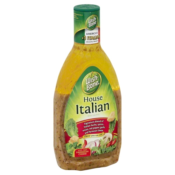 Wish-Bone House Italian Salad Dressing, 16 fl oz