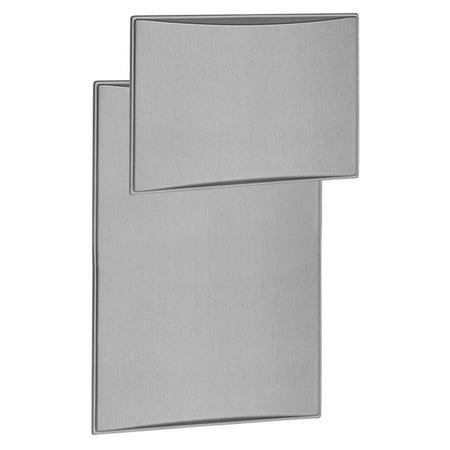 Dometic 3311889.030A Aluminum Style Raised Refrigerator Door Panels