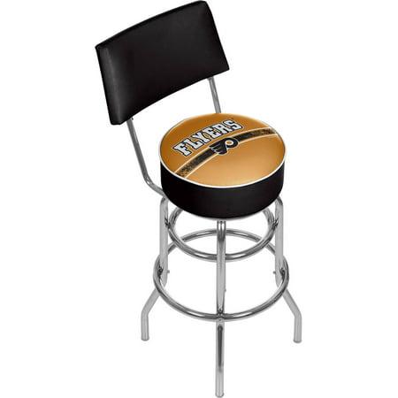 Peachy Nhl Swivel Bar Stool With Back Philadelphia Flyers Inzonedesignstudio Interior Chair Design Inzonedesignstudiocom
